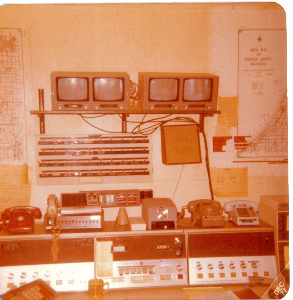 Berrien County Dispatch Center, December 1977