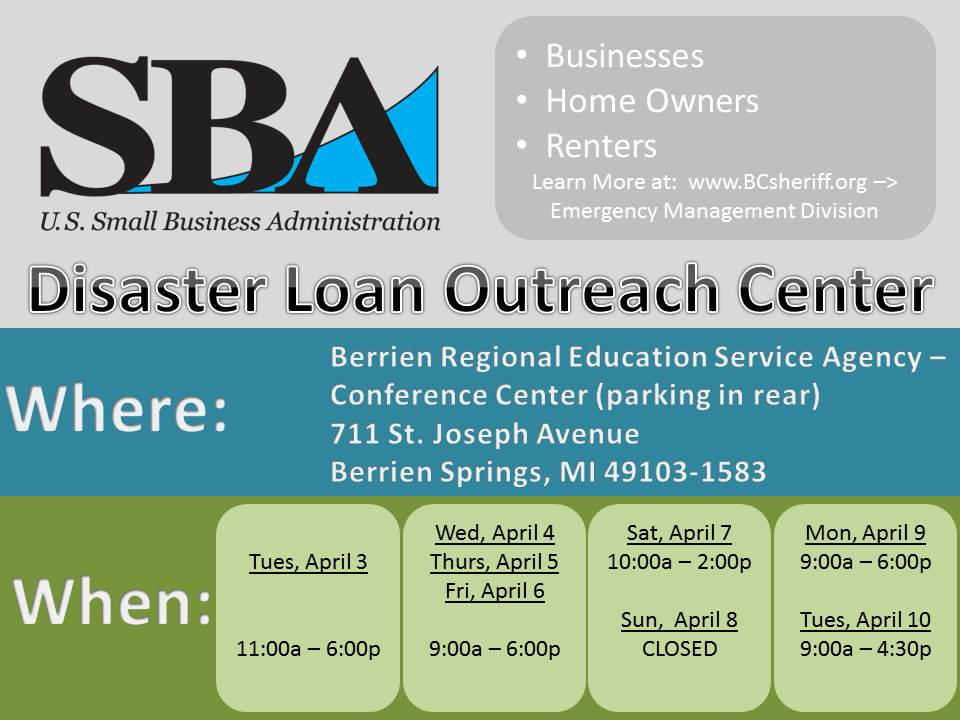 03 30 2018 SBA Loan Outreach Center