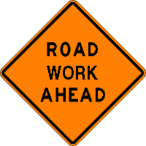 Road work ahead - Copy