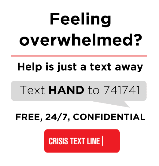 help is just a text away
