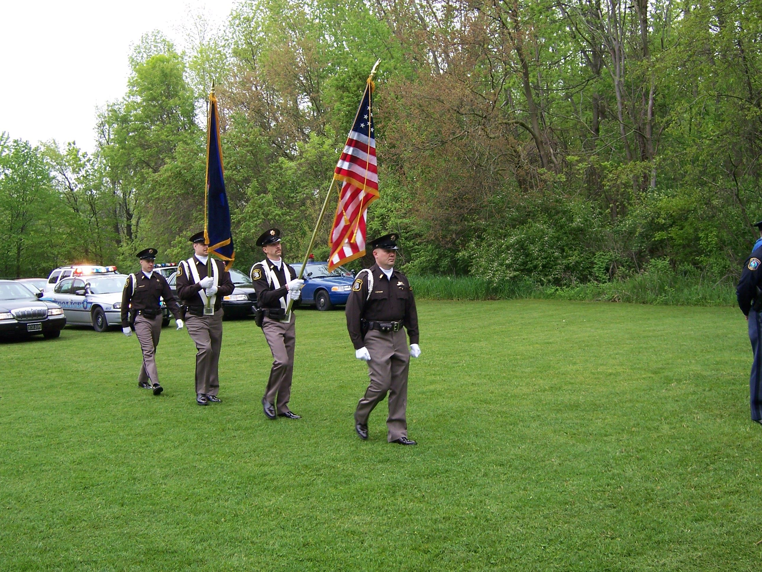 Berrien County Honor Guard at Law Enforcement Memorial Day 2006