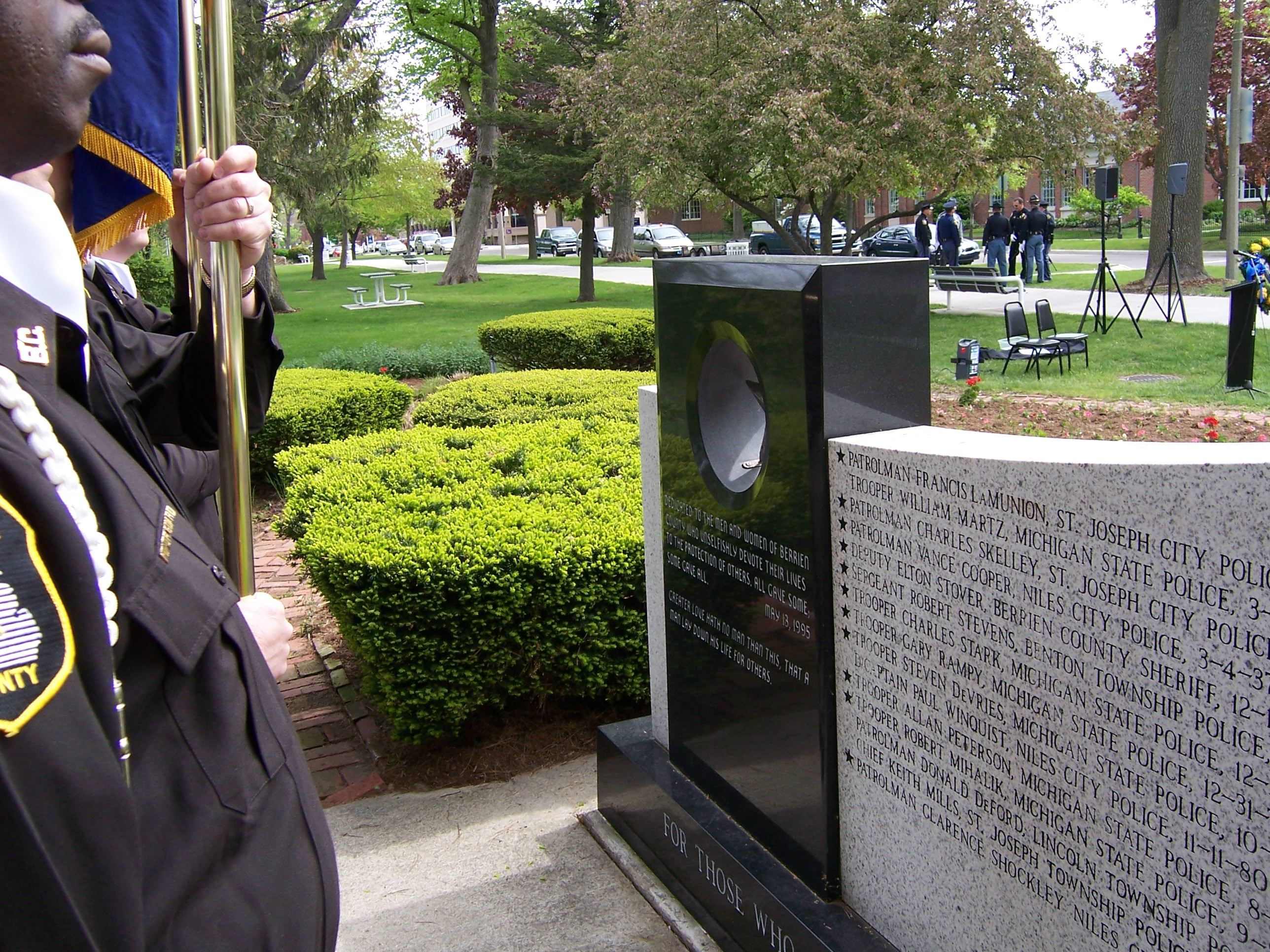 Berrien County Honor Guard on Law Enforcement Memorial Day 2008
