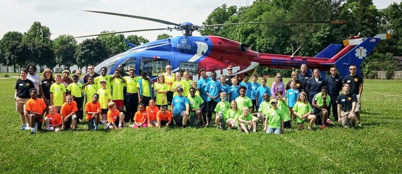 Kids Camp 2015 - Helicopter