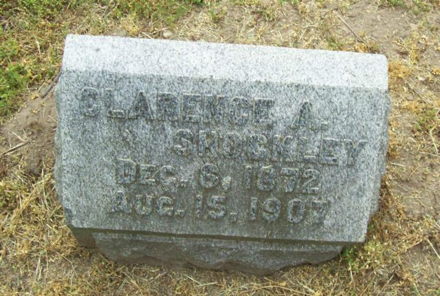 Clarence Shockley Grave